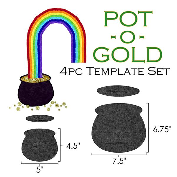 Pot Of Gold Template | Pot O Gold Template Set Shop Martellinotions Com