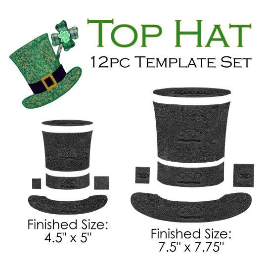 top hat template set