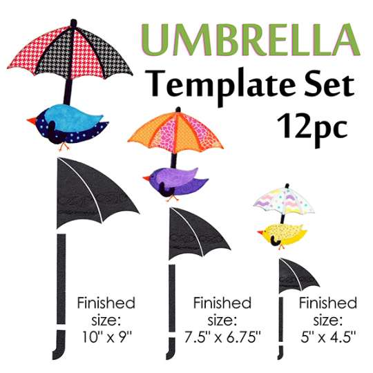 Umbrella Template Set: Shop.Martellinotions.Com
