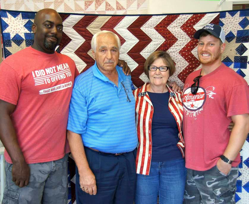 Pensacola quilting company honors veterans