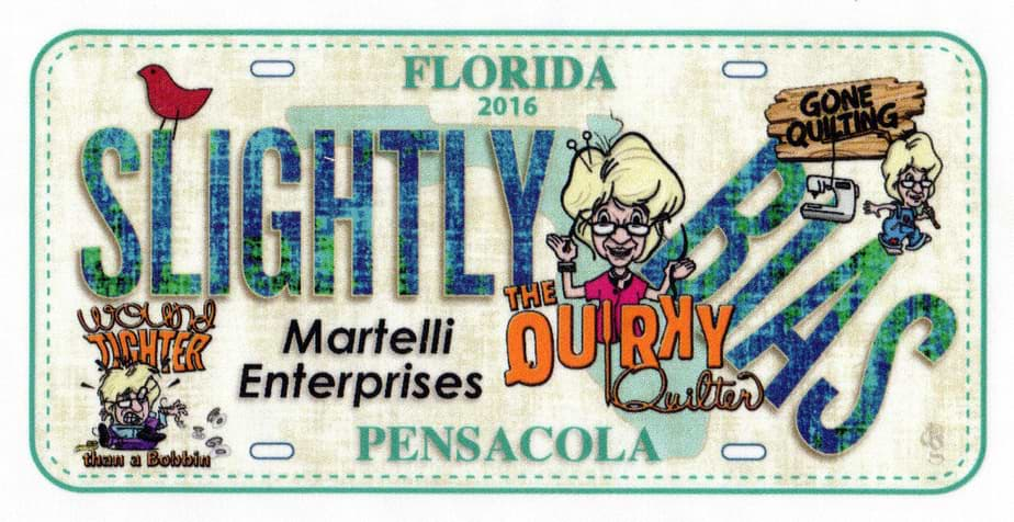 Martelli Enterprise themed license plate designs row by row experience - slightly bias