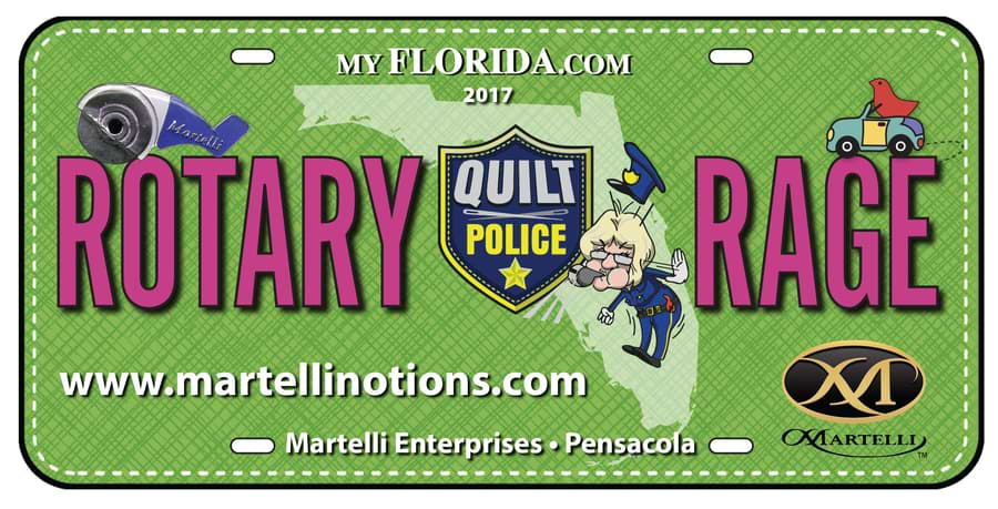 Martelli Enterprise themed license plate designs row by row experience - rotary rage